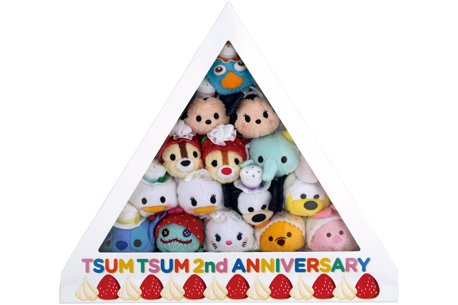 アニバーサリーケーキBOX TSUM TSUM