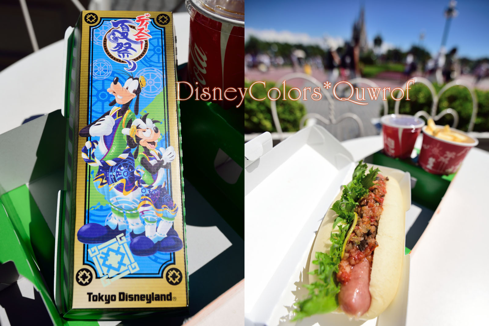 リフレッシュメントコーナー ディズニー夏祭り スペシャルセット