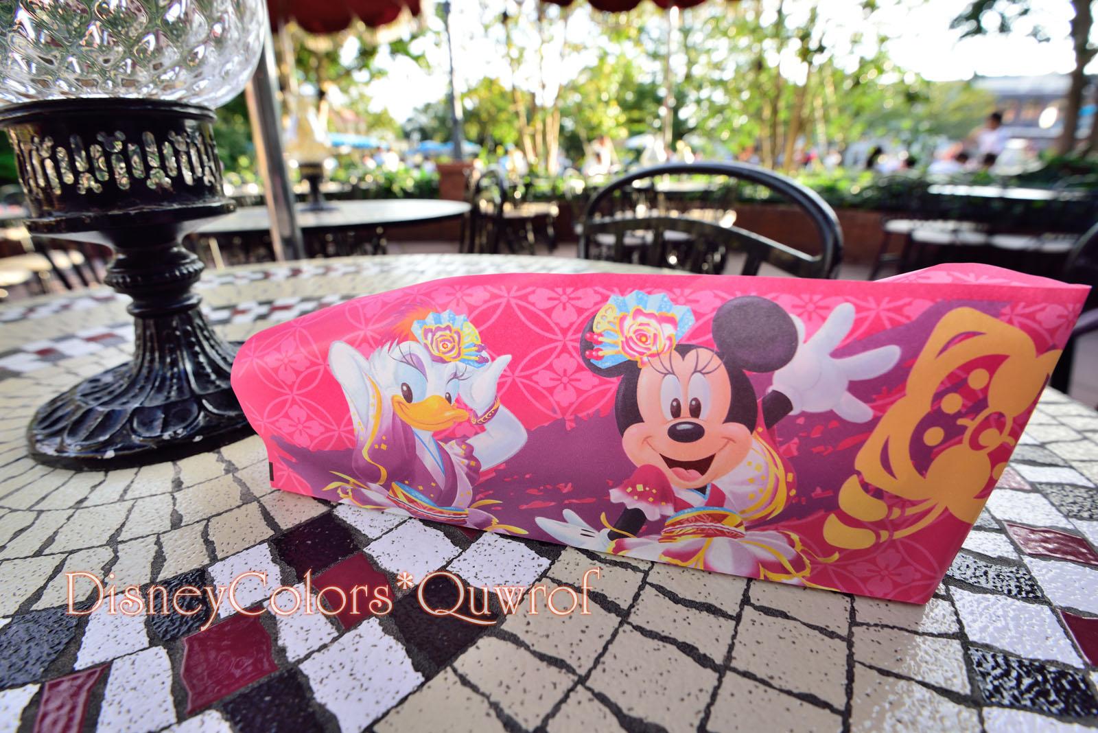 カフェ・オーリンズ ディズニー夏祭り2016 チキン&ラタトゥイユの冷製クレープ(カレー風味)
