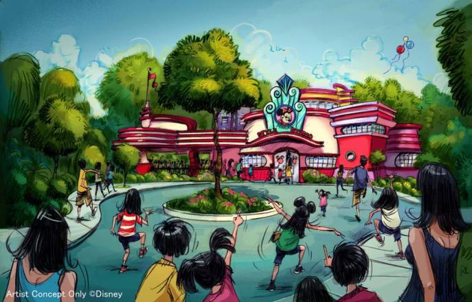 東京ディズニーランド 大規模開発 ミニーのグリーティング施設