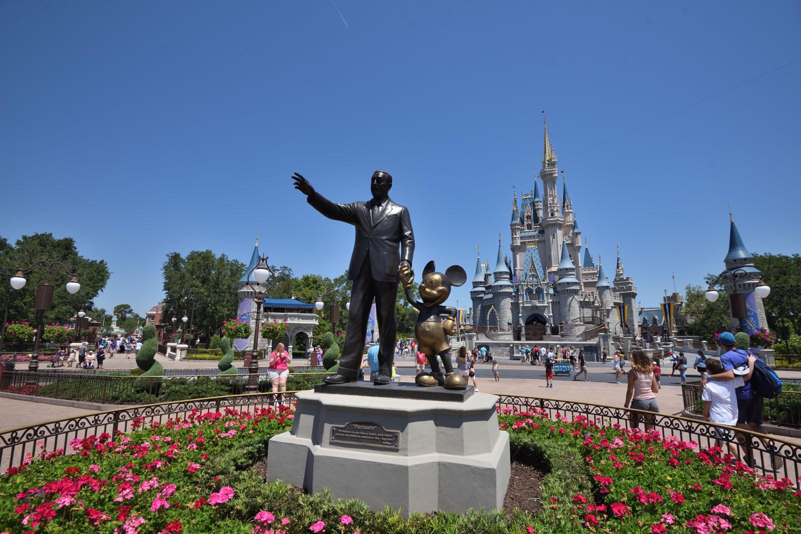 ウォルト・ディズニー・ワールド マジックキングダム Walt Disney Wolrd Magic Kingdom