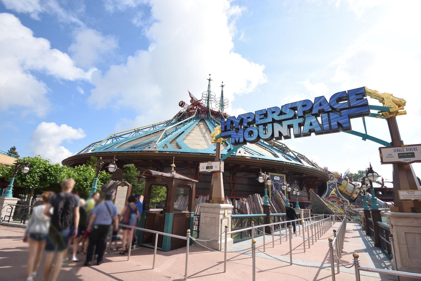 ディズニーランド・パリ スター・ウォーズ・ハイパースペース・マウンテン Disneyland Paris Star Wars Hyperspace Mountain