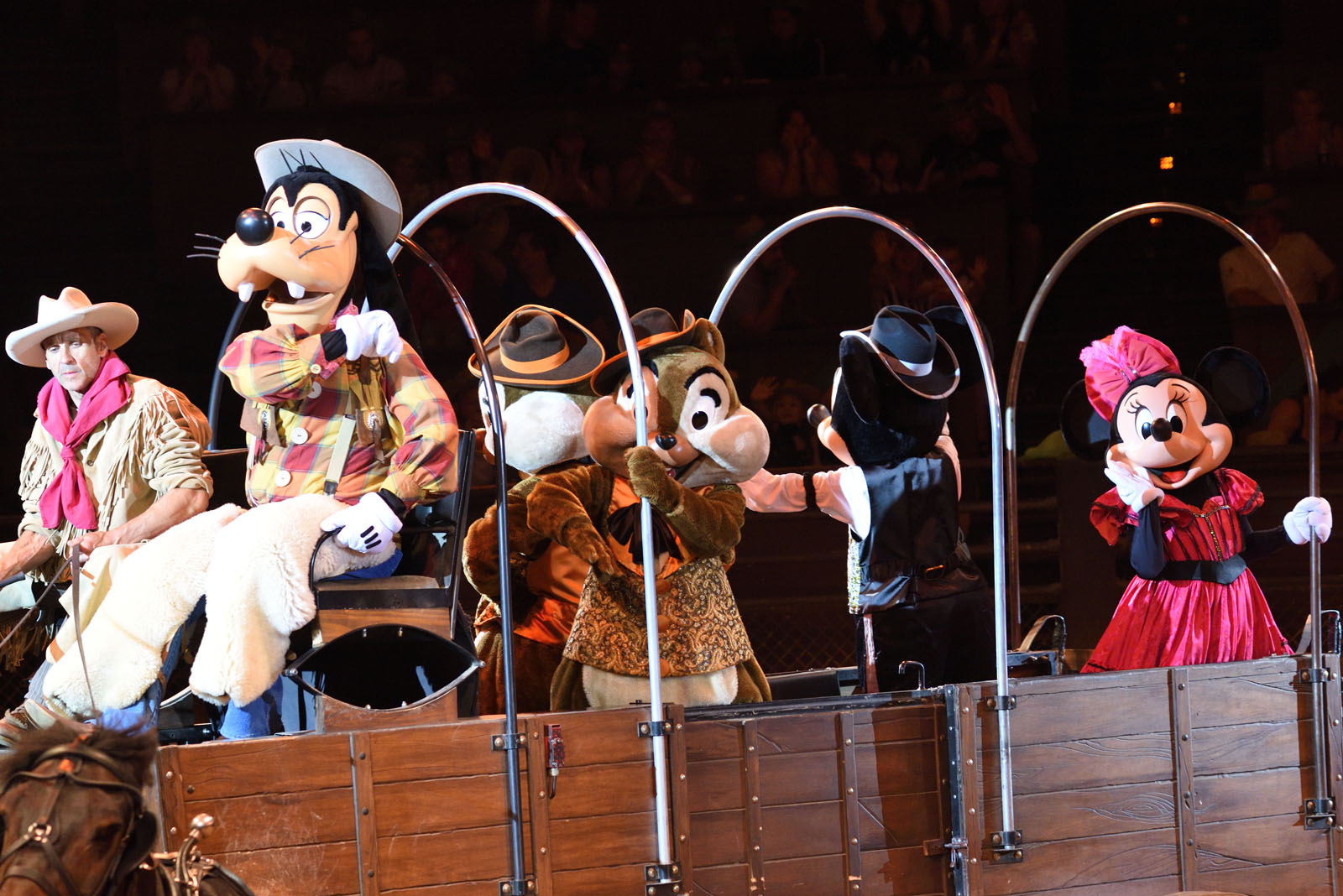 ディズニーランド・パリ ワイルド・ウエスト・ショー Disneyland Paris Wild West Show