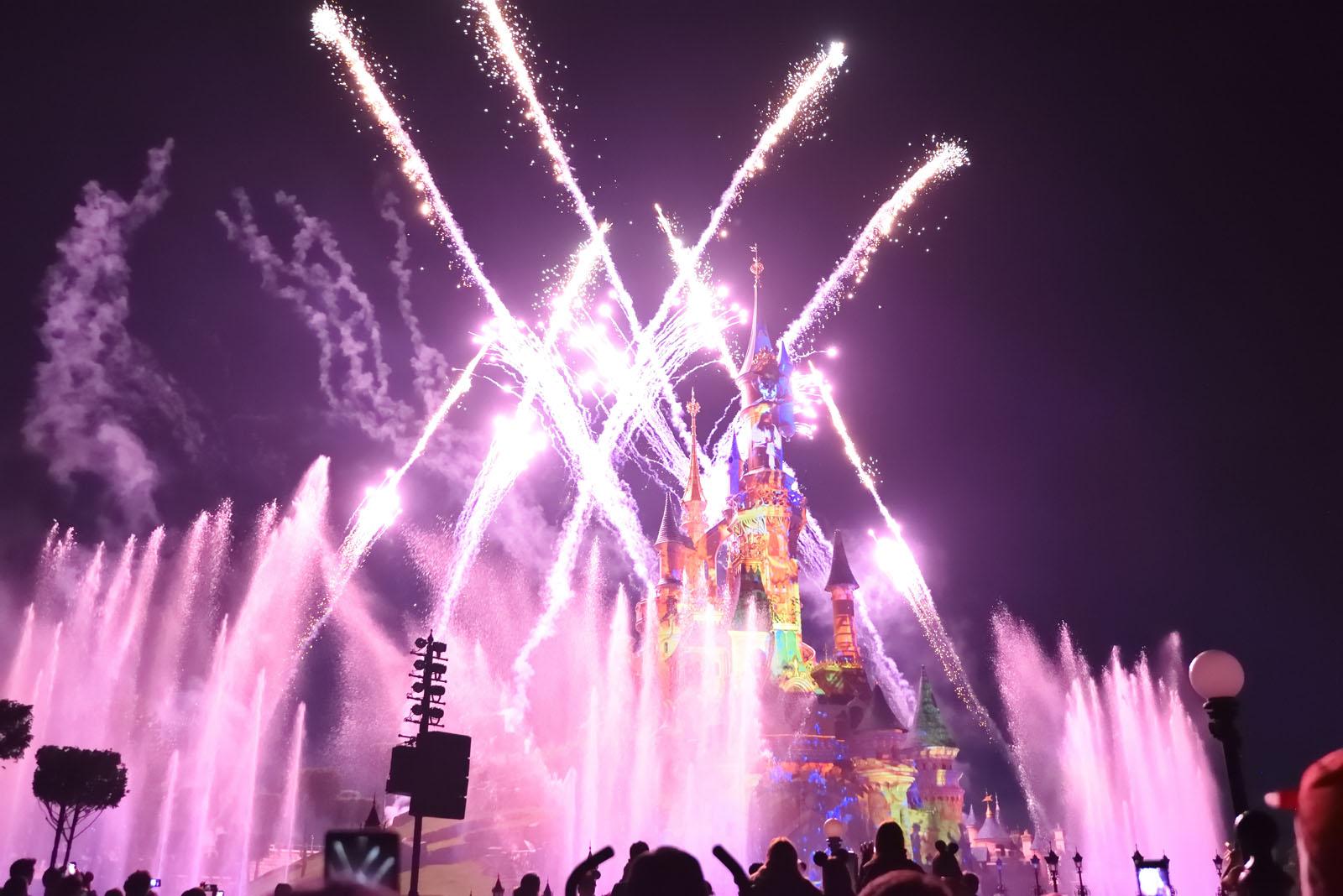 ディズニーランド・パリ ディズニー・イルミネーションズ Disneyland Paris Disney Illuminations