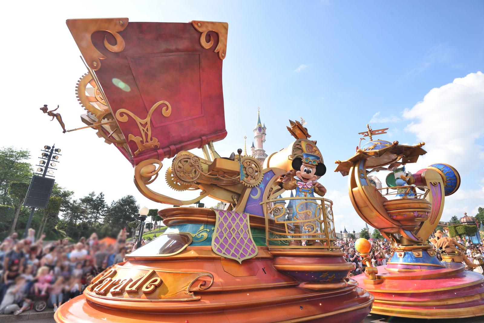 ディズニーランド・パリ ディズニー・スターズ・オン・パレード Disneyland Paris Disney Stars on Parade