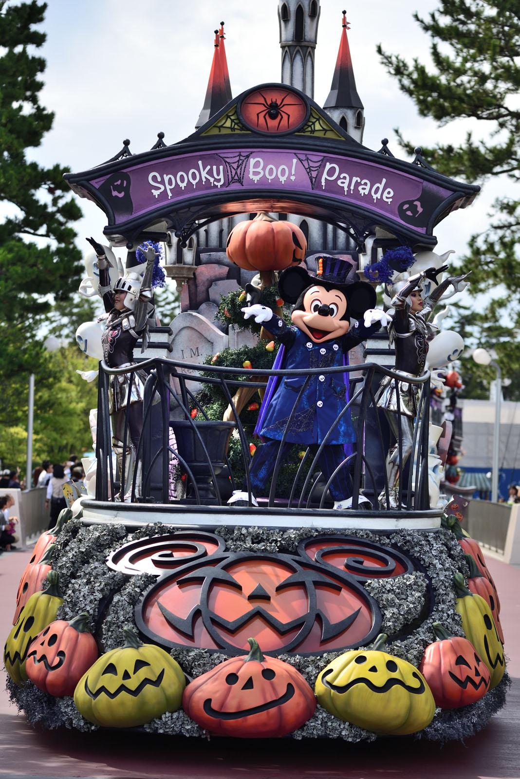 """東京ディズニーランド スプーキー""""Boo!""""パレード2018 ミッキー"""