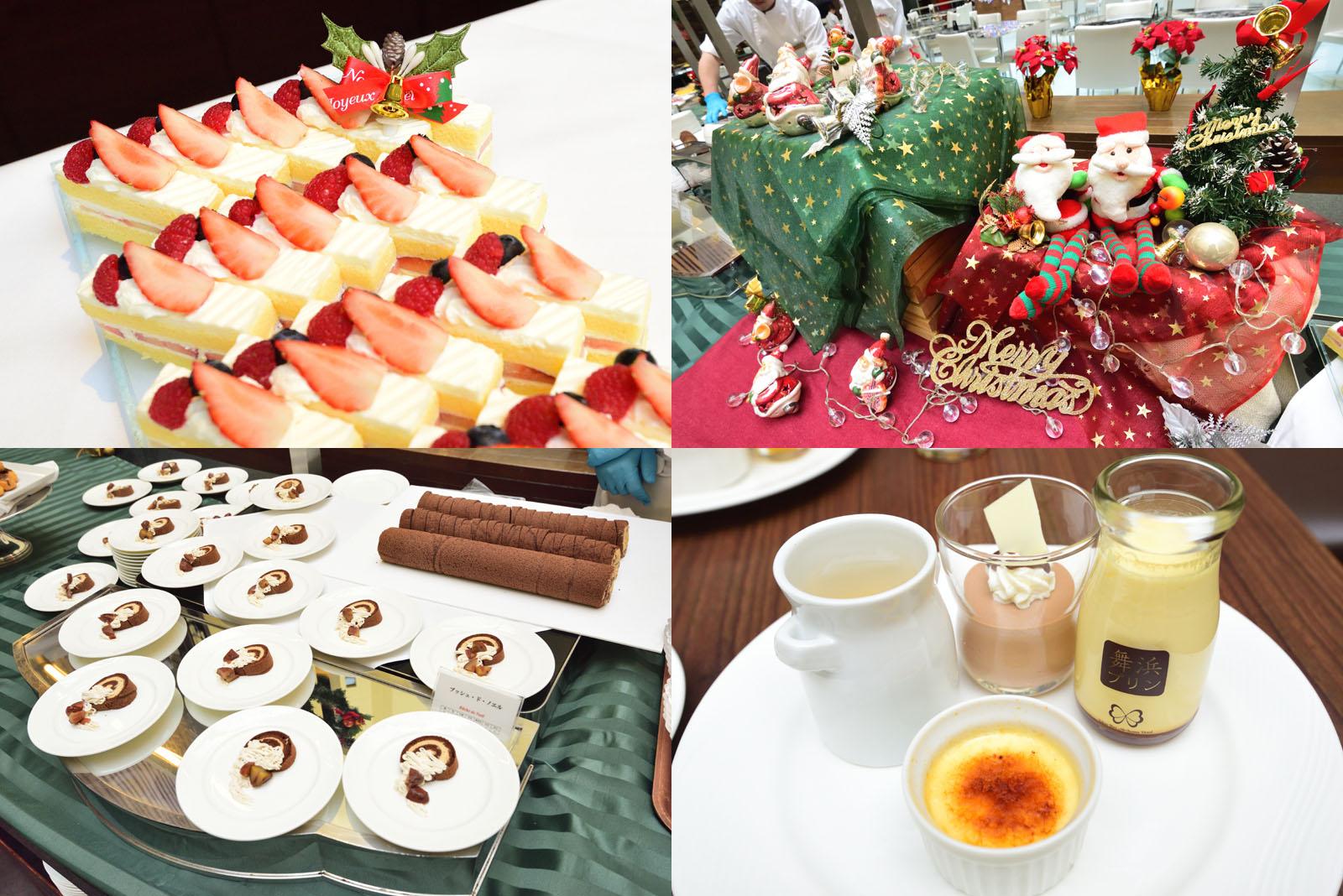 東京ベイ舞浜ホテル クリスマススイーツブッフェ