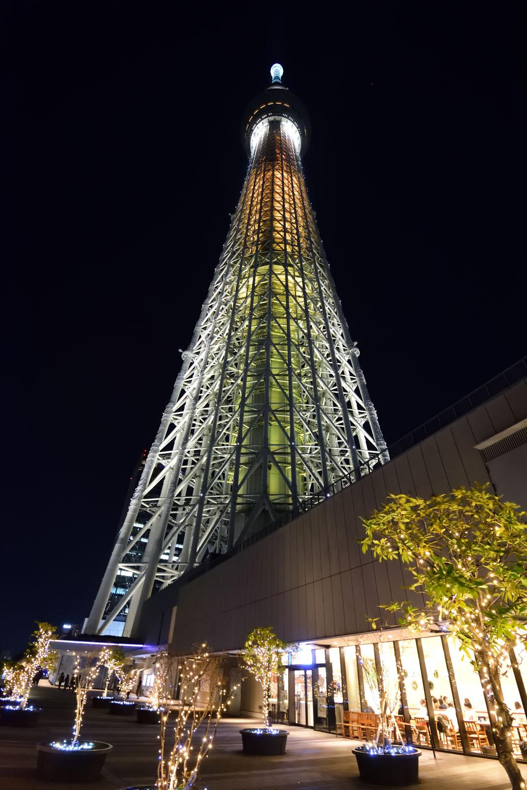 東京スカイツリー キングダムハーツ 光と闇の塔
