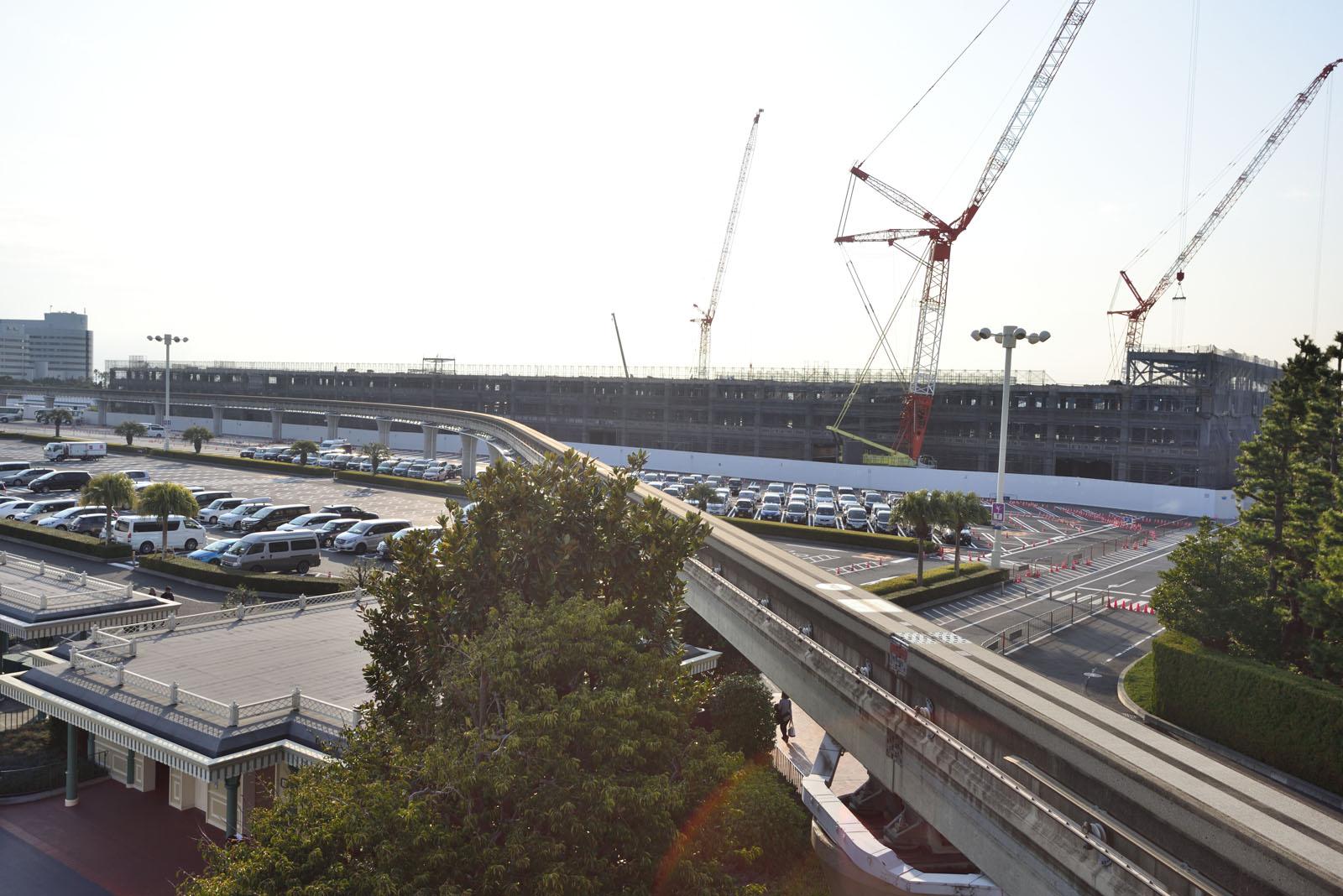 東京ディズニーランド 新立体駐車場