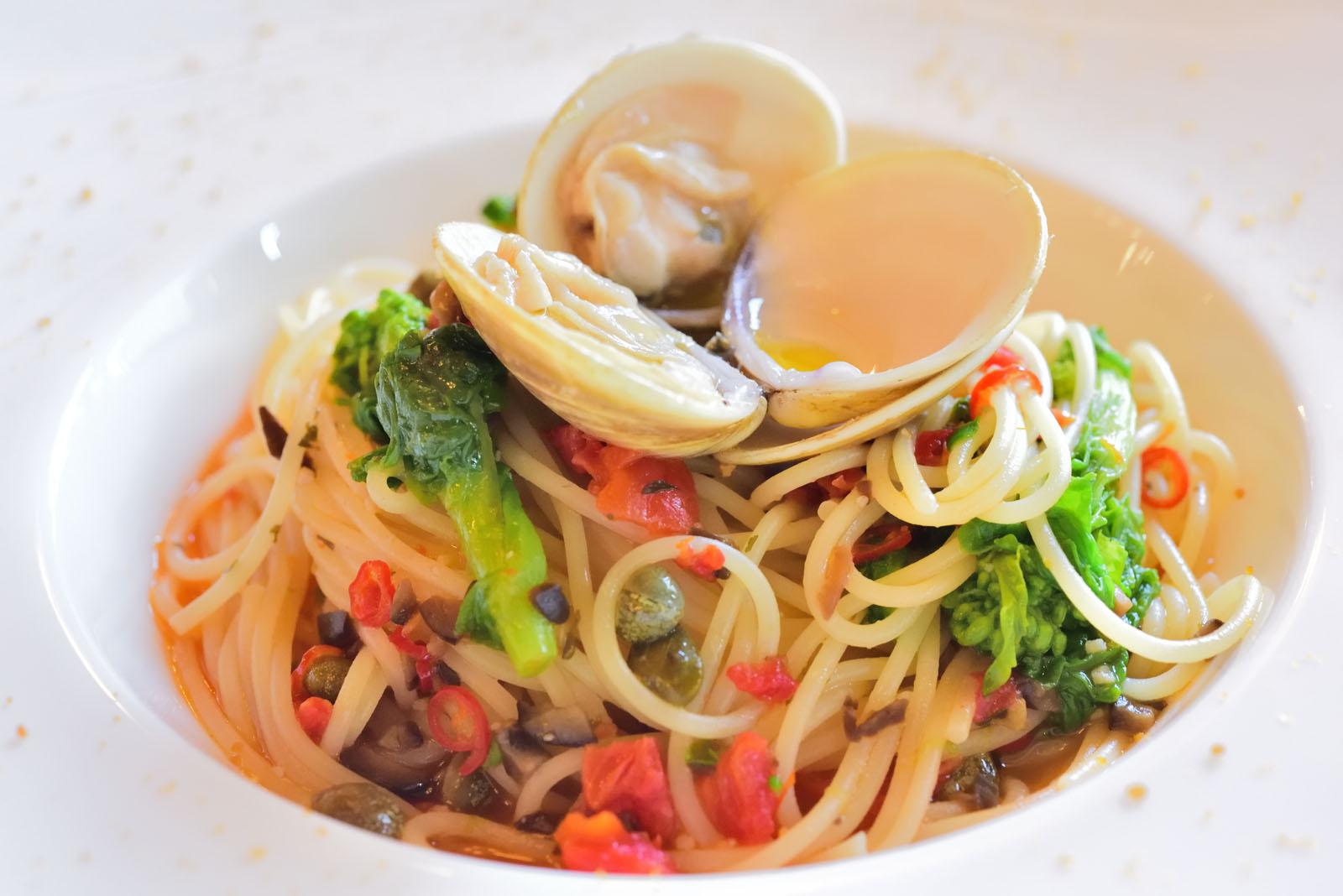 イーストサイド・カフェ ディズニー・イースター2019スペシャルセット 蛤と菜の花のスパゲッティーニ