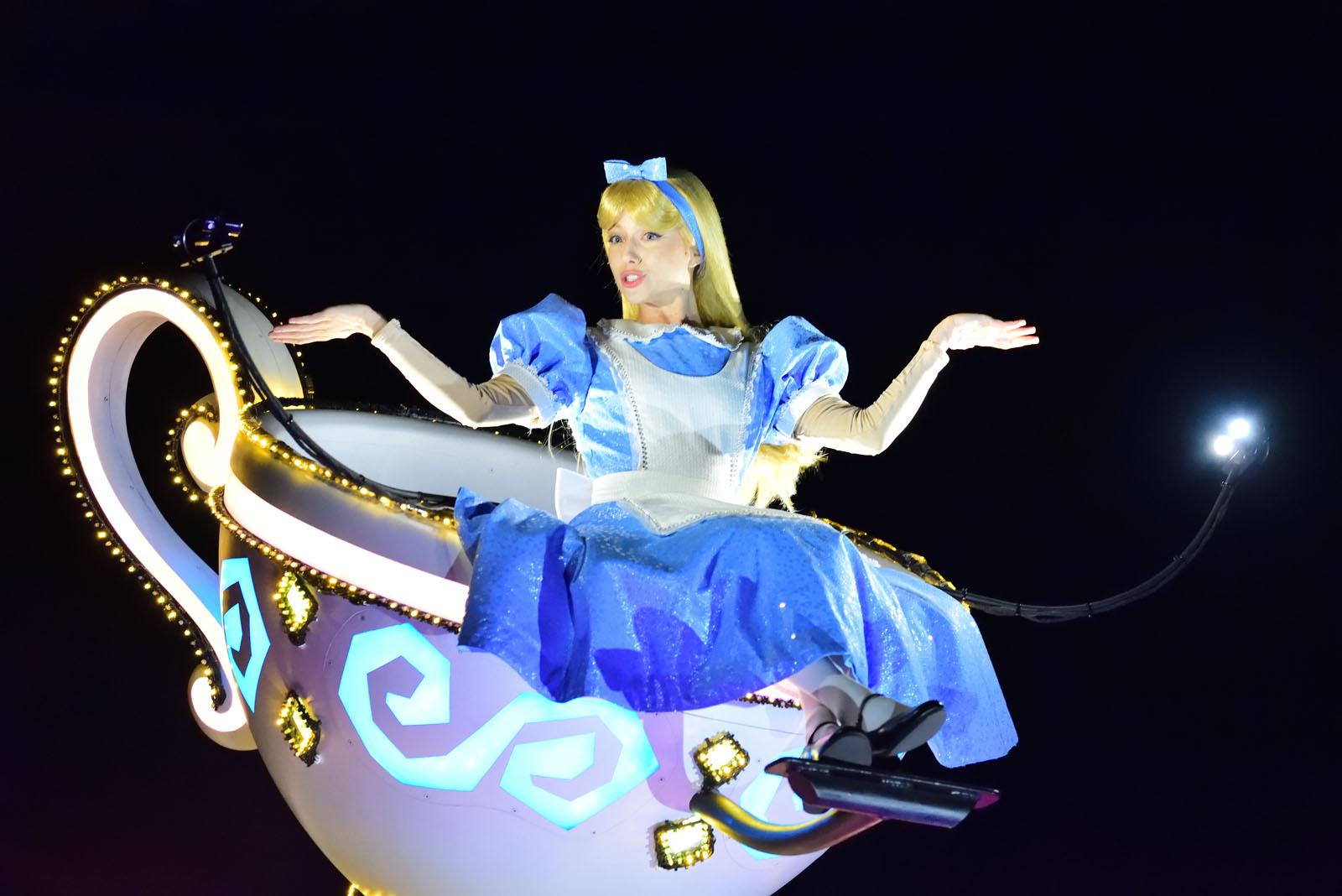 東京ディズニーランド・エレクトリカルパレード・ドリームライツ アリス