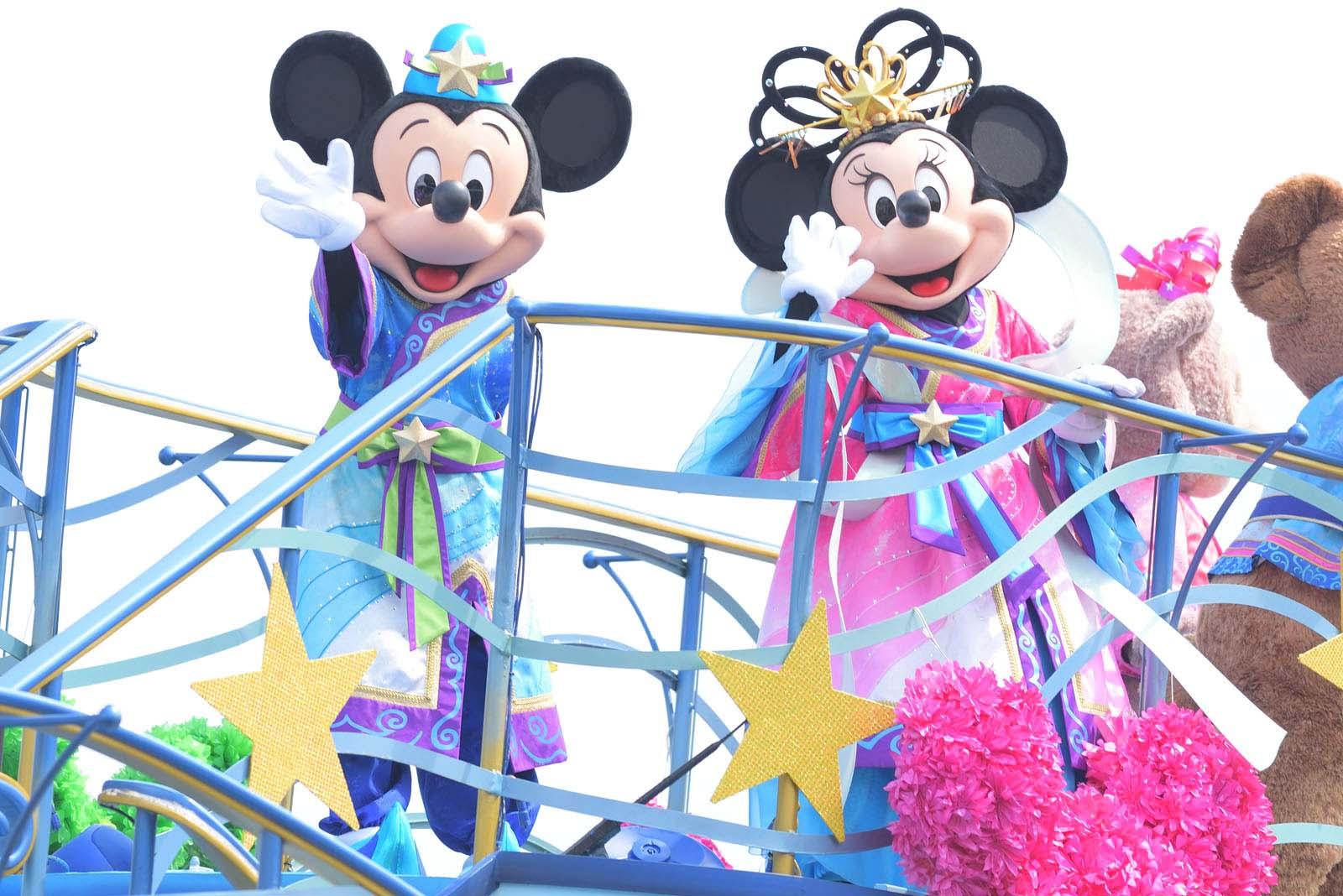 東京ディズニーシー 七夕グリーティング2019 ミッキー ミニー