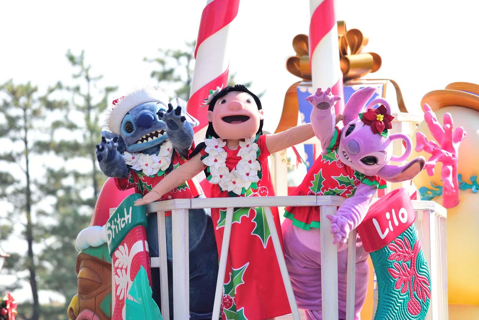ディズニー・クリスマス・ストーリーズ2017 スティッチ リロ エンジェル