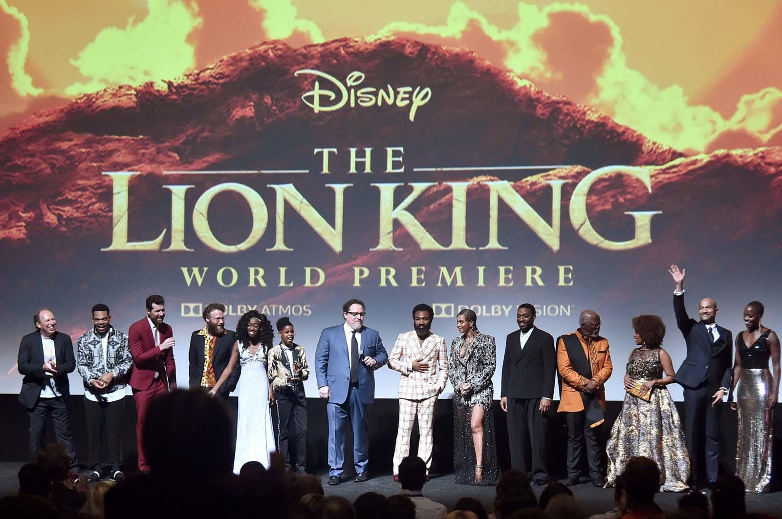 超実写版『ライオン・キング』 ワールドプレミア の模様