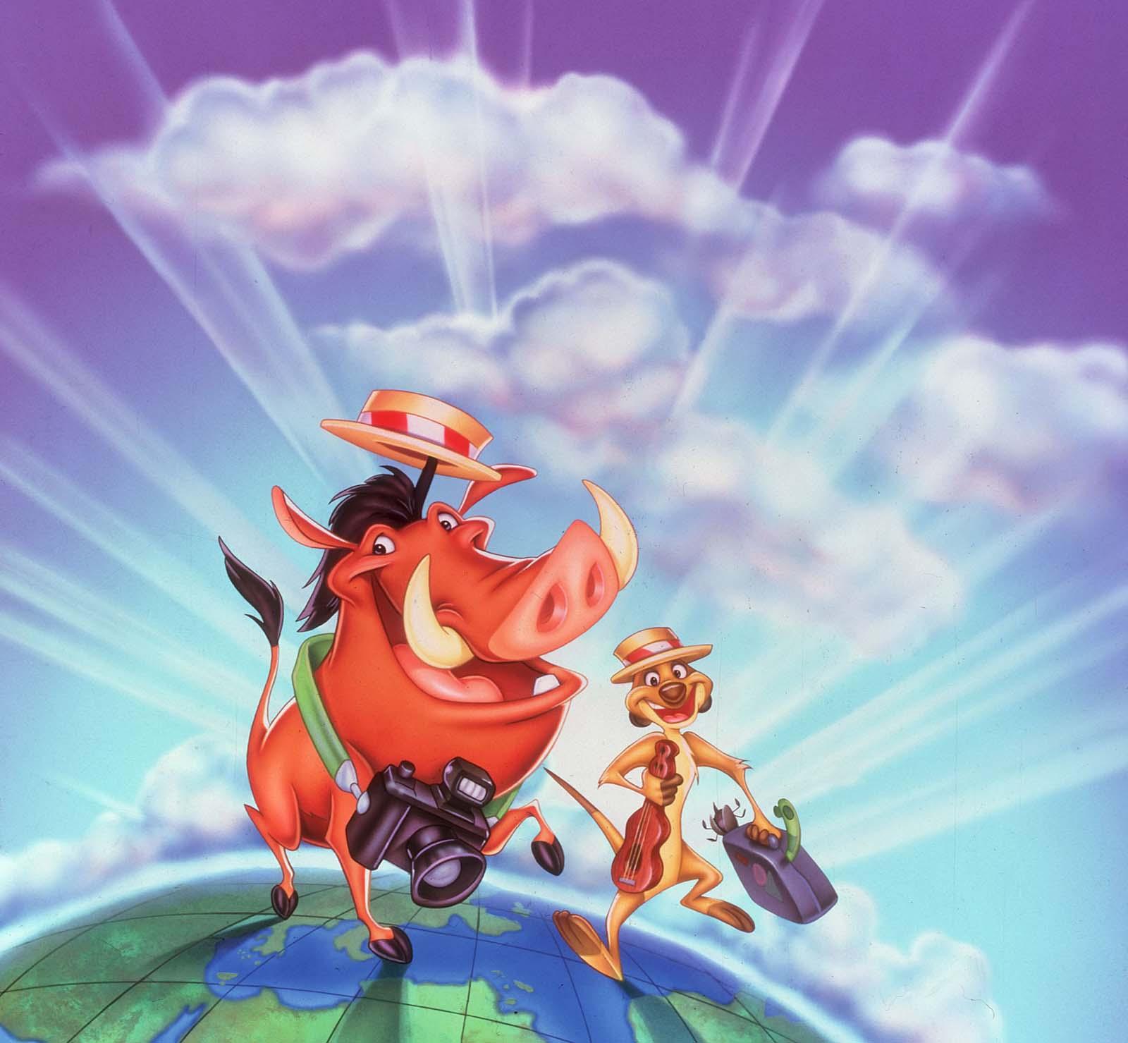 ライオン・キングのティモンとプンバァ