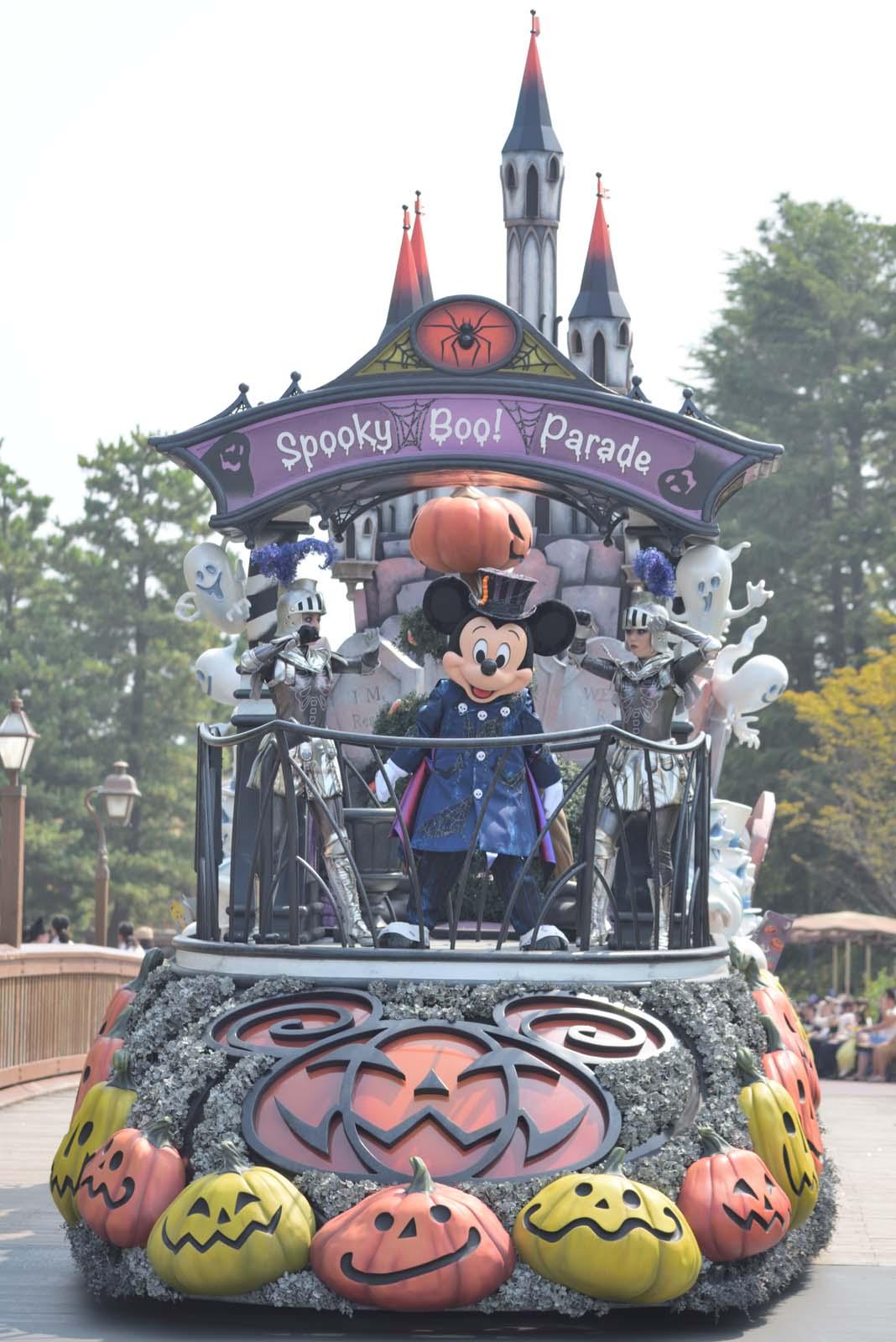 """スプーキー""""Boo!""""パレード2019 ミッキー"""
