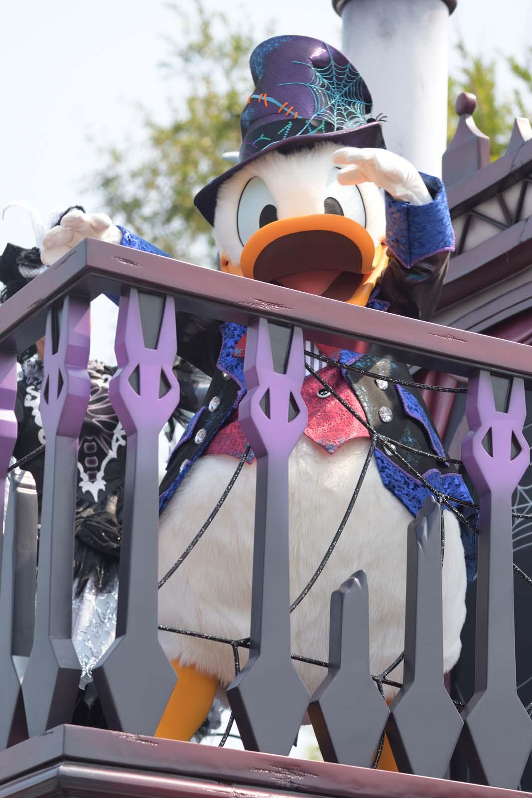 """スプーキー""""Boo!""""パレード2019 ドナルド"""
