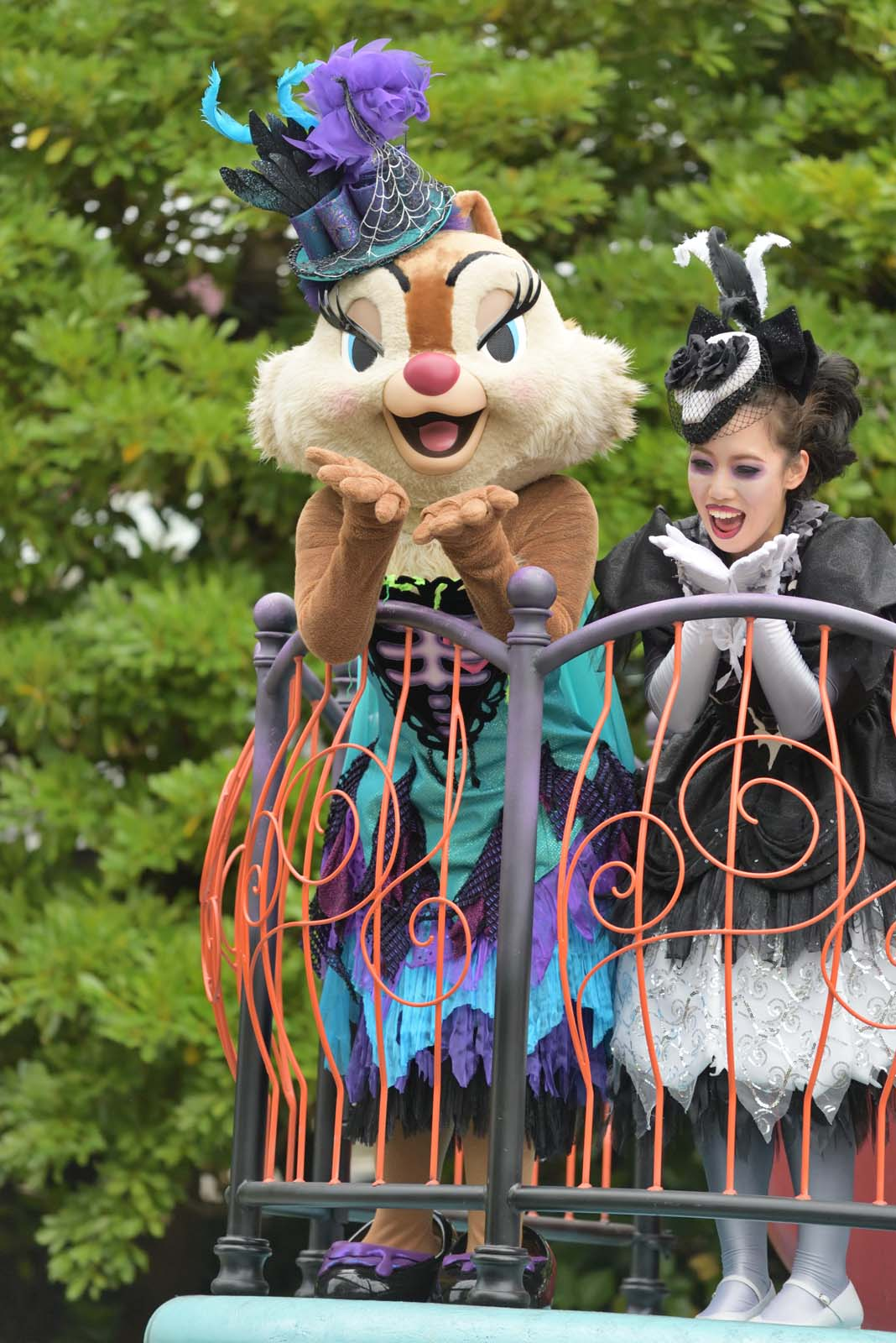 """スプーキー""""Boo!""""パレード2019 クラリス"""