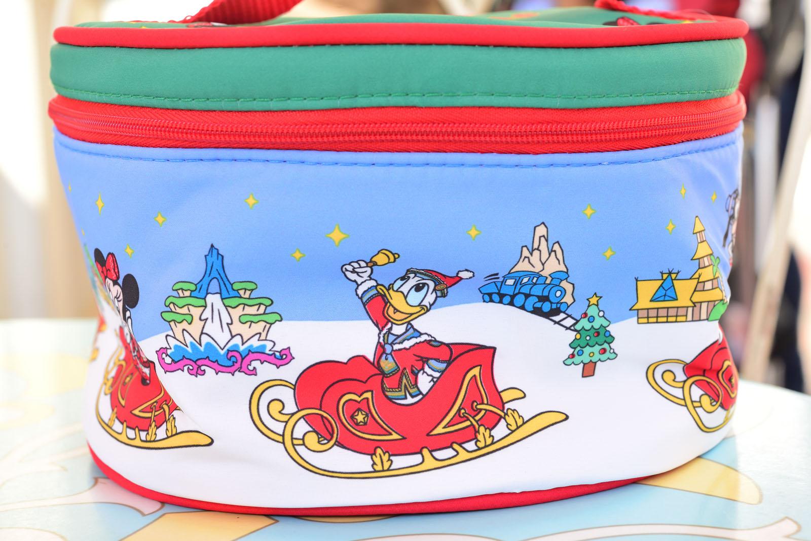 東京ディズニーランド ディズニー・クリスマス2019 スーベニアランチケース