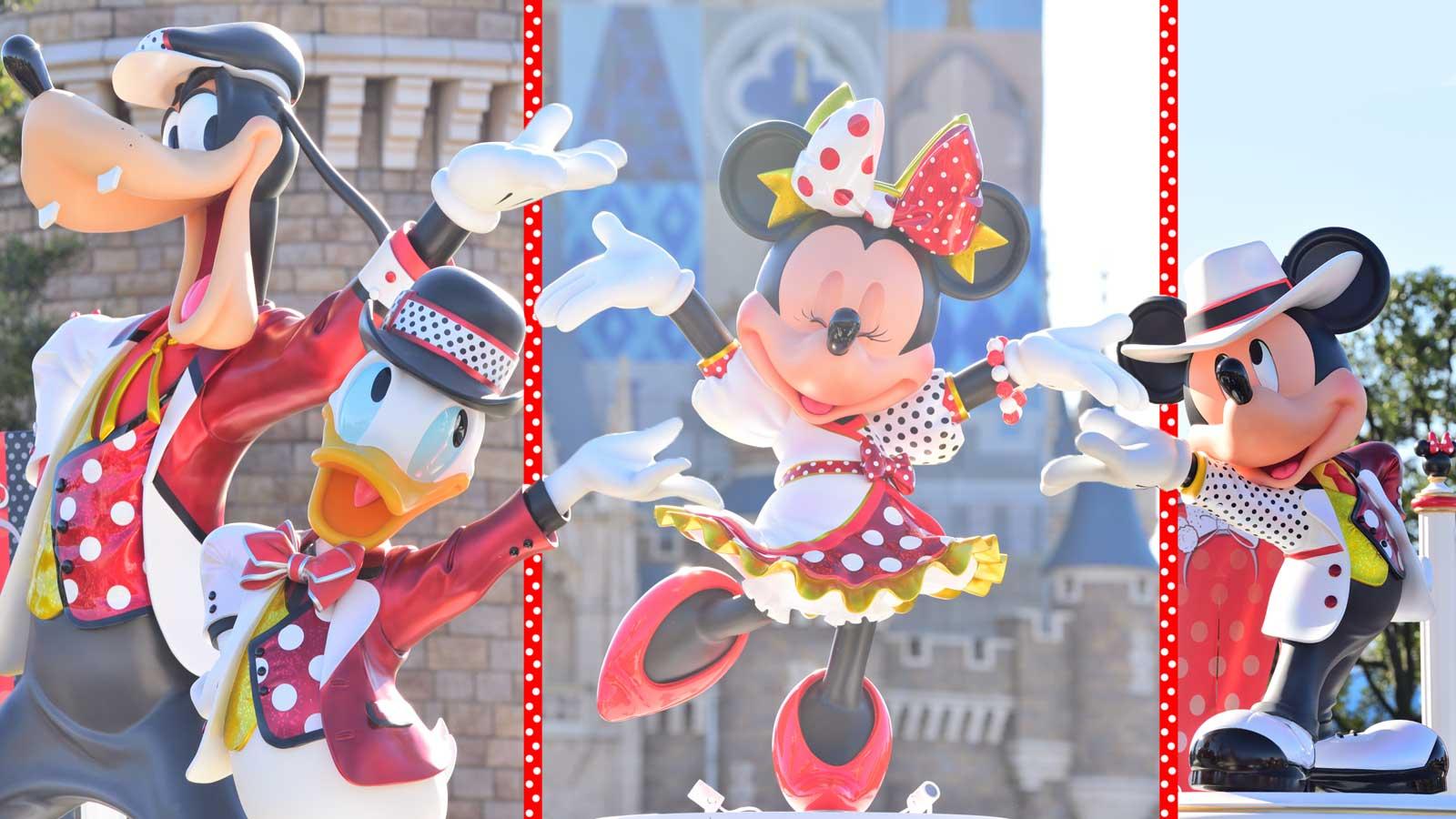 過去のショーパレが復活で ファンにとって激アツの冬に Tdlプログラム ベリー ミニー リミックス 詳細発表 Disney Colors Blog