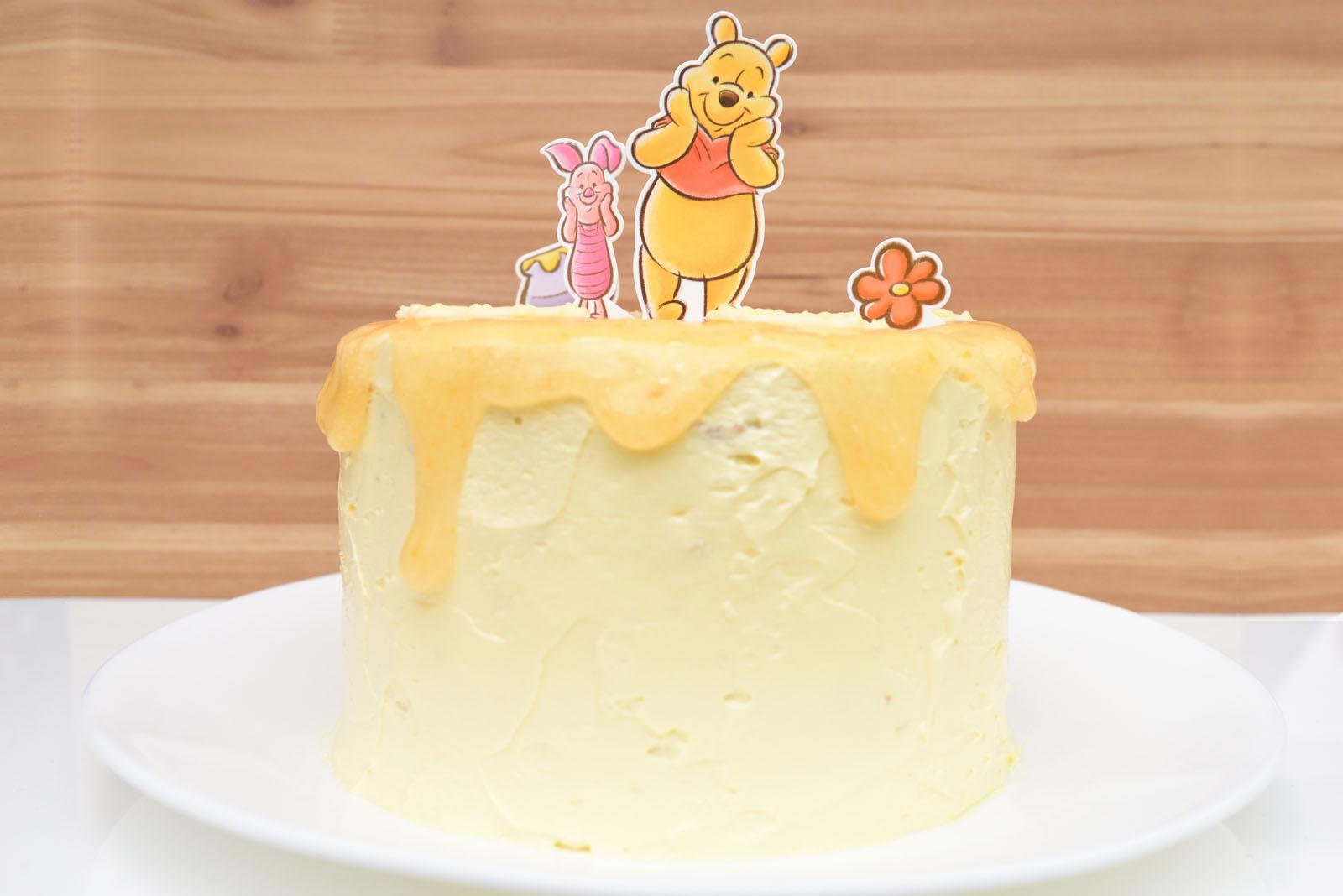 ABCクッキングスタジオ Disneyスイーツオンラインレッスン くまのプーさんとピグレット/はちみつケーキ