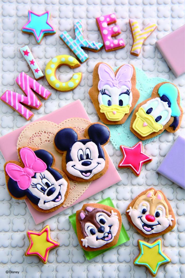 ABCクッキングスタジオ Disneyスイーツオンラインレッスン ミッキー&フレンズ/アイシングクッキー