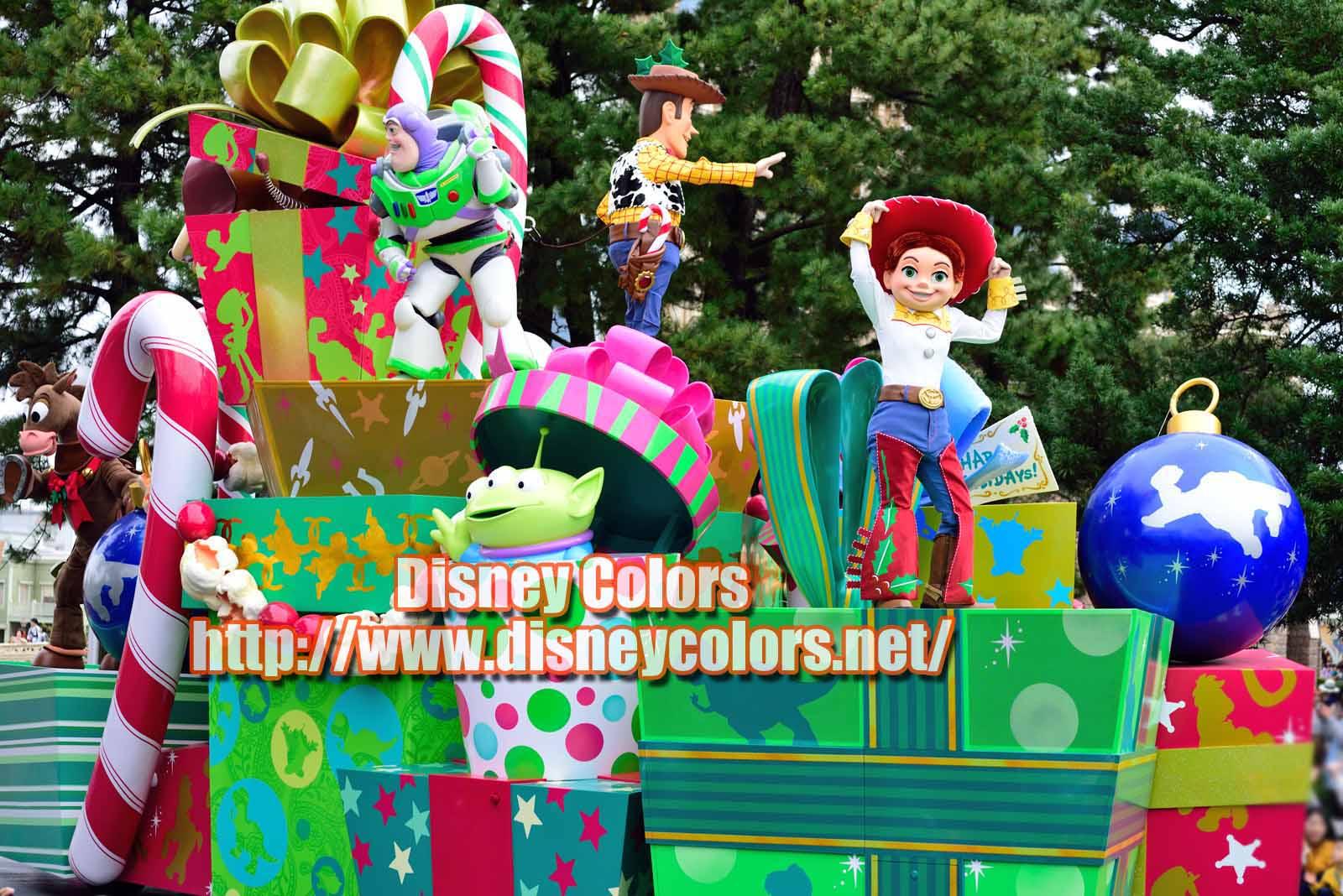 ディズニー・クリスマス・ストーリーズ2019 ウッディ ジェシー バズ ブルズアイ