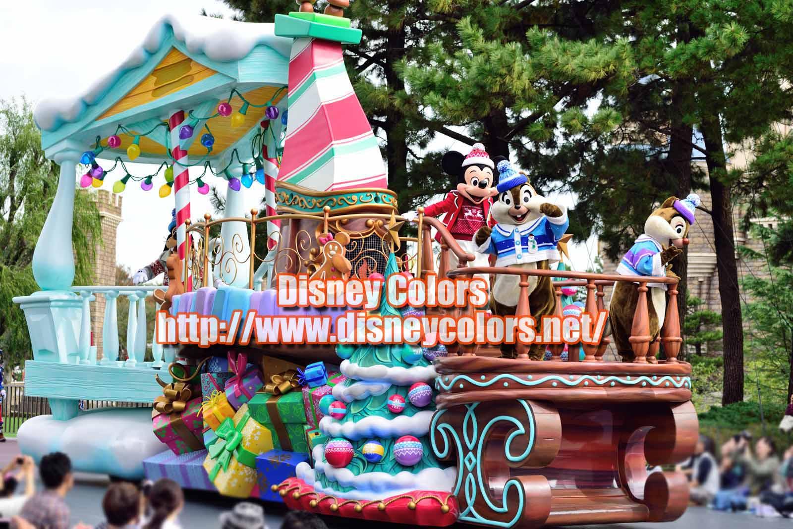 ディズニー・クリスマス・ストーリーズ2019 ミッキー ミニー グーフィー マックス チップ デール