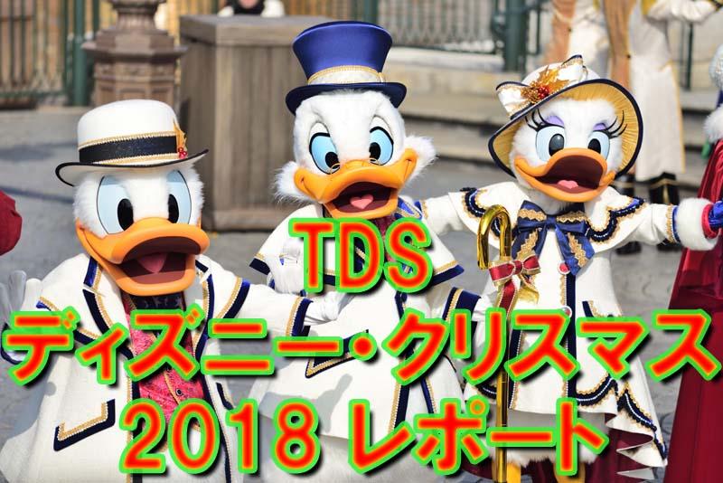 TDS《ディズニー・クリスマス2018》レポート