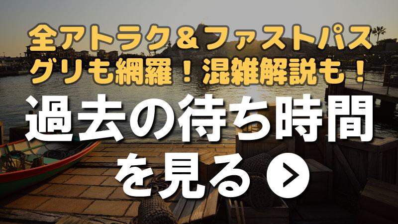 東京ディズニーランド 東京ディズニーシー 過去の待ち時間・混雑