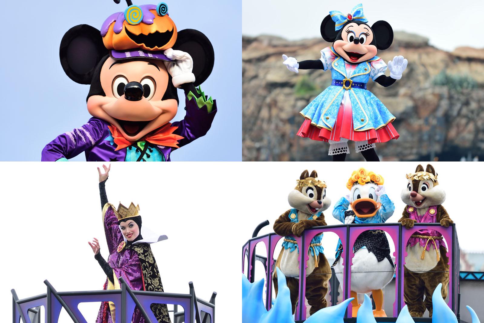 2016年10月 ディズニーランド ディズニーシー 混雑予想|disney colors